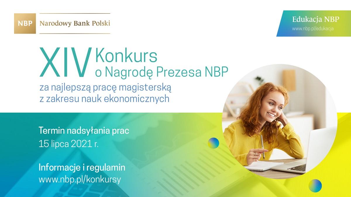 XIV edycja Konkursu o Nagrodę Prezesa NBP za najlepszą pracę magisterską z zakresu nauk ekonomicznych